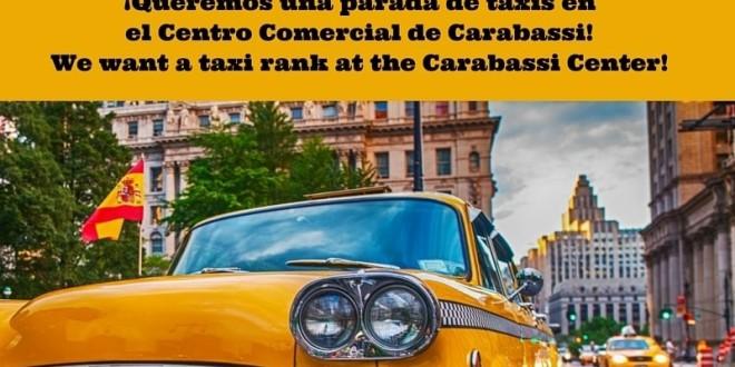 parada taxi en Gran Alacant